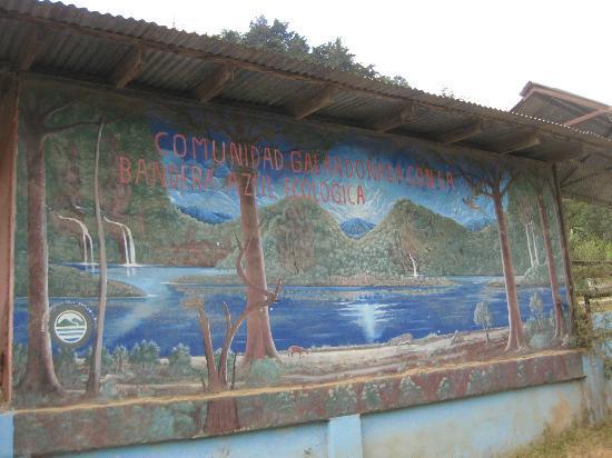 Hotel Uran: Mural