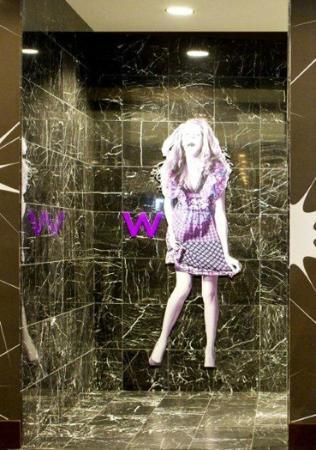 Silverspot Cinema : Outside the women's bathroom