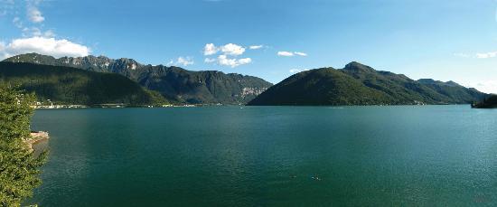Hotel Riviera: Wunderschöne Aussicht direkt auf den Lago di Lugano