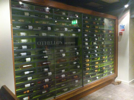 Othello's Bar Brasserie: Wine Selection!