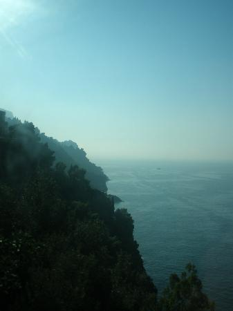 Panorama Santa Tecla Residence: A view on the ride from Naples to Maiori
