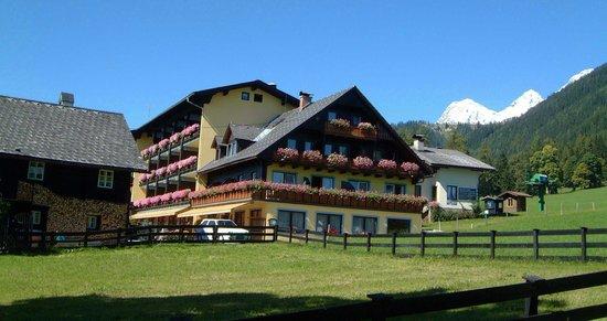 Ferienhotel Knollhof: Der Knollhof im Sommer