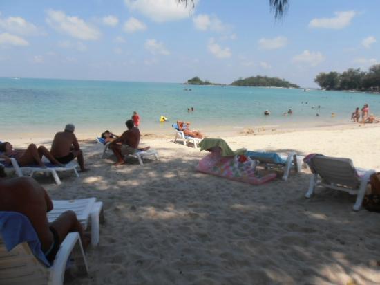 O Soleil Bungalow: superbe plage ombragée