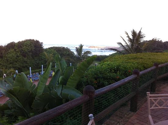 Pumula Beach Hotel: View from the deck 2