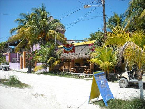 View of El Cafecito