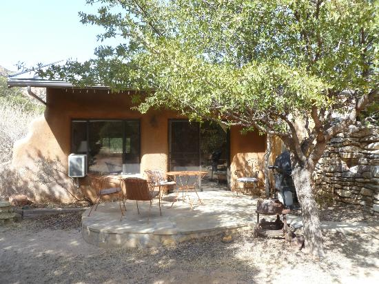 Cochise Stronghold, A Nature Retreat: View of Agave Suite Patio