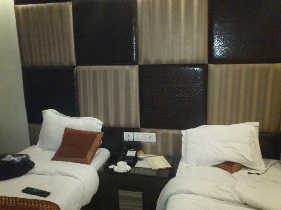 Hotel Delhi Pride: Room inside