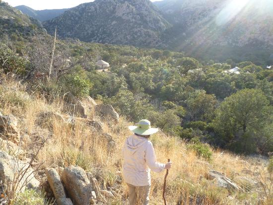 Cochise Stronghold, A Nature Retreat: B & B is below