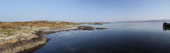 Isle of Gigha, UK: View from Gigha