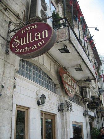 Hatay Sultan Sofrasi: outside