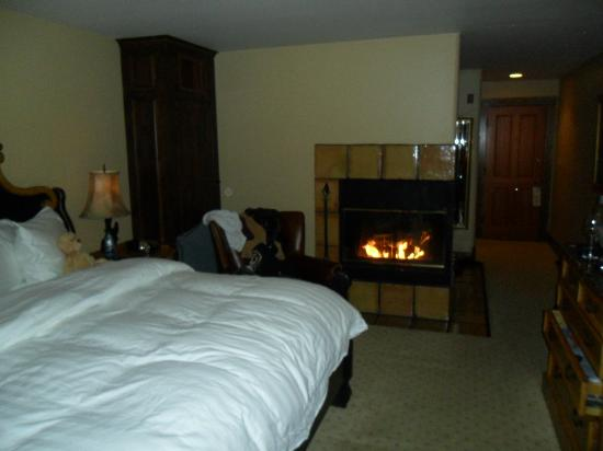 Rusty Parrot Lodge and Spa : Standard King w/ Fireplace