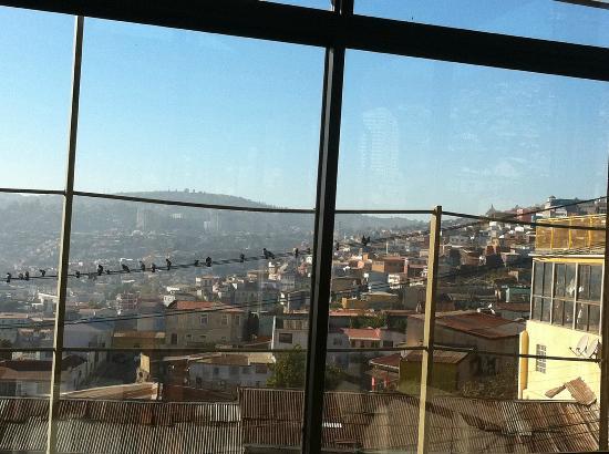 อาร์ซี เดโก อาร์ต บูติค โฮเต็ล: vista a los cerros desde el comedor