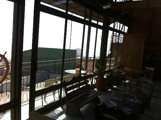 Rc deco art hotel boutique vista desde el comedor