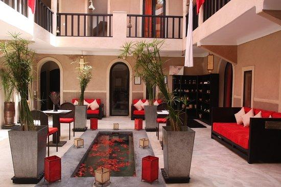 Riad Isis : patio isis