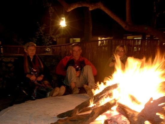 nDzuti Safari Camp: Around the fire