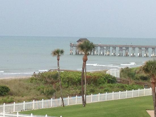 Discovery Beach Resort: View of pier from room