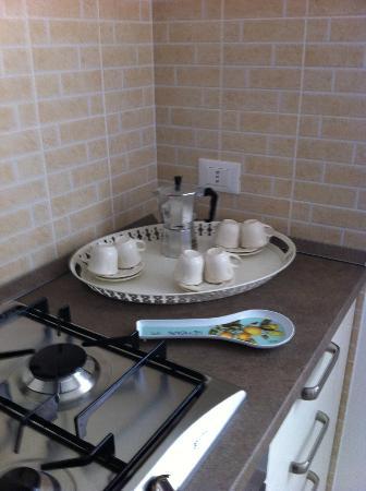 Residence Corte Del Sole: particolare della cucina
