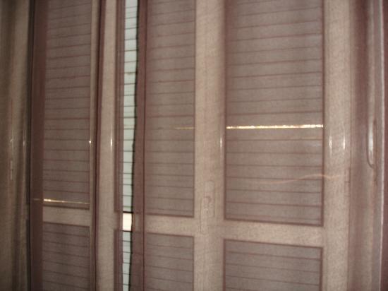 Hotel Vittoriano: persianas