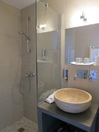 Le Saut de la Truite : badkamer kamer 15
