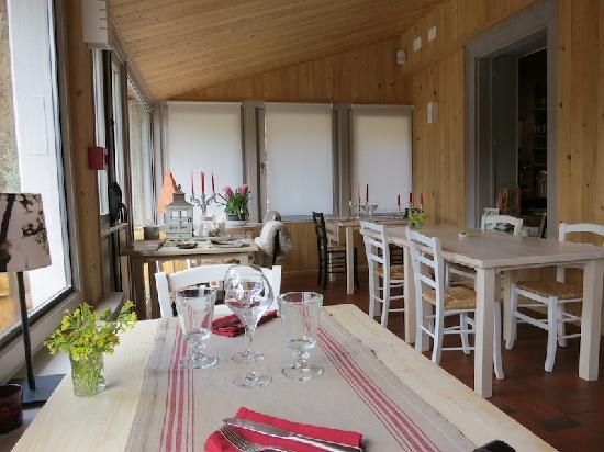 Le Saut de la Truite : eetkamer