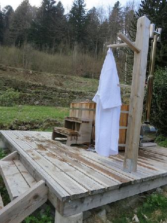 Le Saut de la Truite : een van de twee Noorse baden
