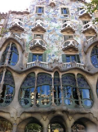 Barcelona, Hiszpania: gaudi
