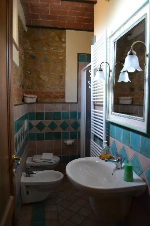 Agriturismo Biologico Bellaria: Baño