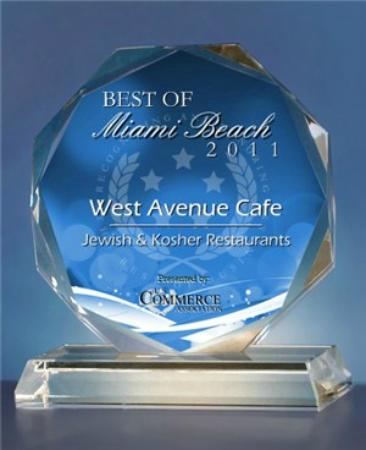West Avenue Cafe: Award