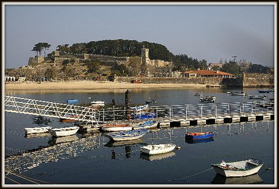 Talaso Atlantico: Vistas de Bayona, donde se encuentra el Talaso...bellos entornos!