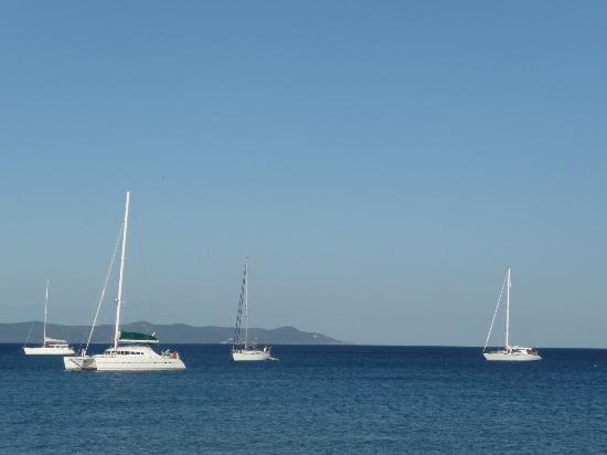 Hotel Lido Beach : la vue du Lido Beach à Hyeres