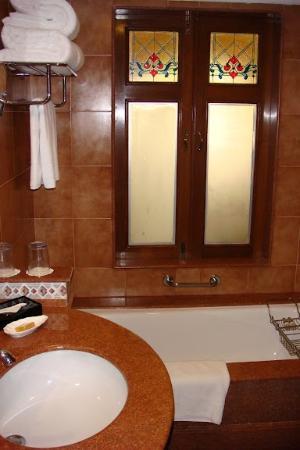 Вид из ванной комнаты
