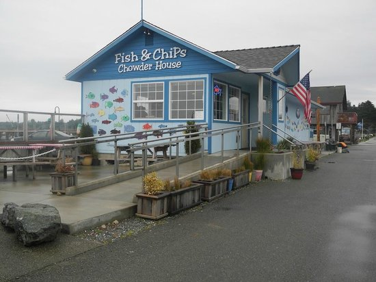 Bandon Fish Market: Recently enlarged, still great fish and chips