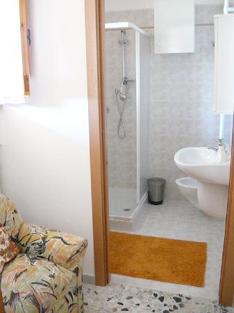 B&B Il Faso: Il bagno in camera