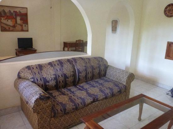 Hotel Las Tres Banderas: Habitacion