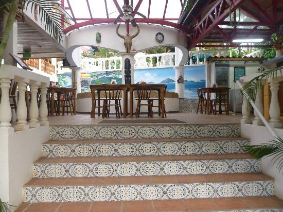 Hotel Las Tres Banderas : Restaurant