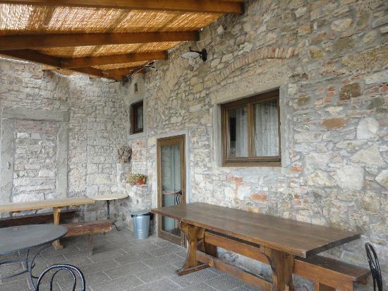 Barberino Di Mugello, إيطاليا: esterno ristorante