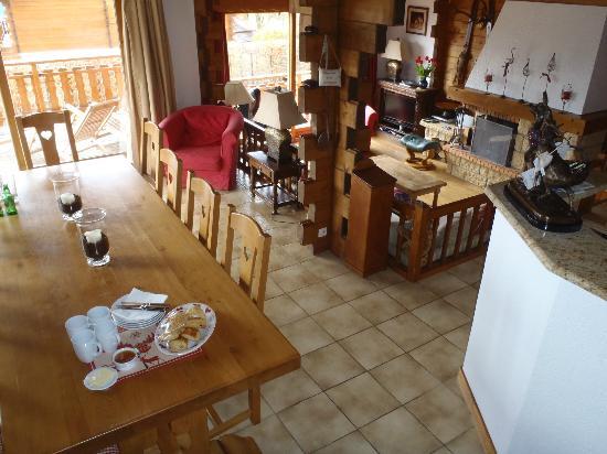 Chalet Calluna : Living area