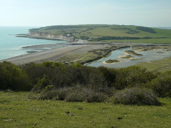Seven Sisters Country Park: View from the Severn Sisters