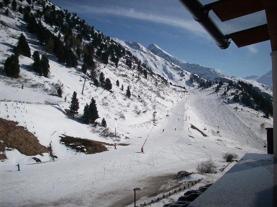Hotel Alpenland: View From Balcony
