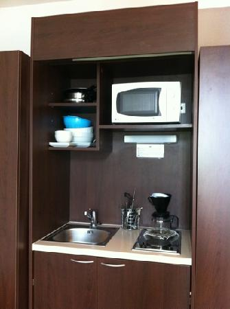 Hotel-Residence Saint Jean: kitchenette