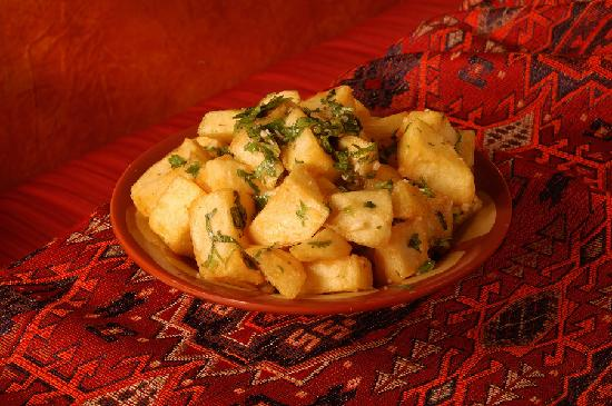 Open Sesame : Our Famous Potatoes