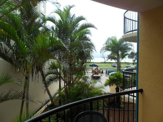 Ocean Boulevard Apartments: View from 1st floor