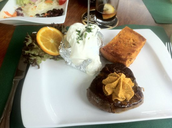 Steakhaus Jadera: My dinner plate