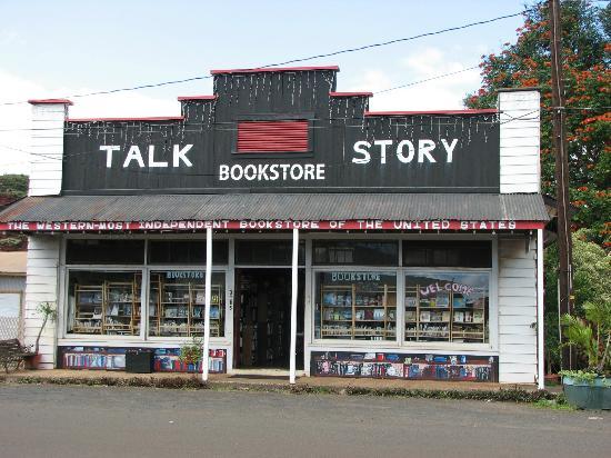 Talk Story Bookstore - Hanapepe, Kauai