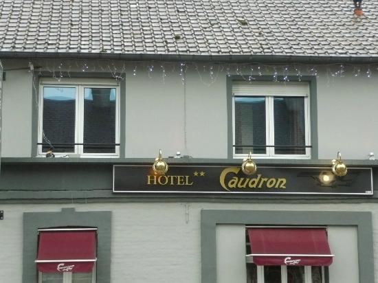 Hotel Caudron : facade de l' Hotel