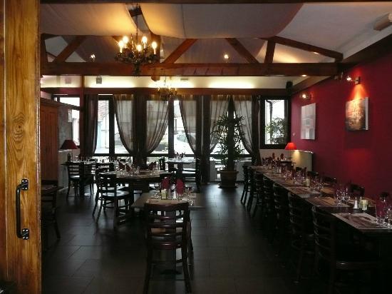 Hotel Caudron : vue de la 2eme salle à manger