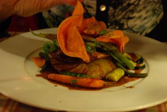 Hotel Restaurant La Placa: des bons plats de teroir