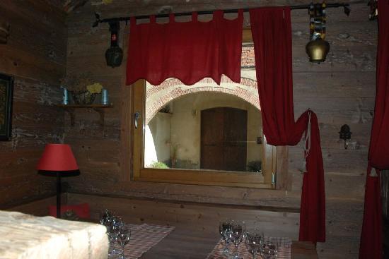 Hotel Restaurant La Placa: ambiance montagne chalet