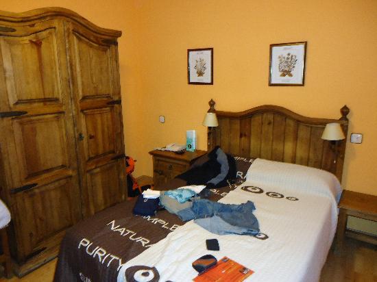 Hotel La Posada: cama