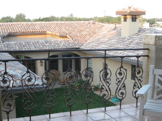 Casabella: View from balcony of La Torre